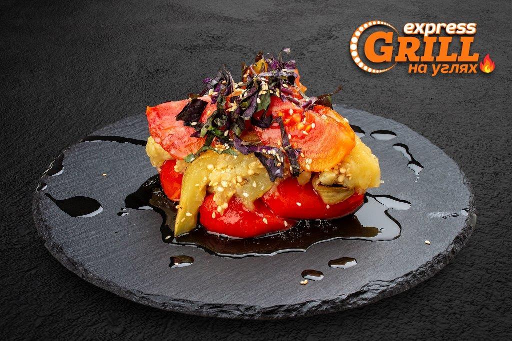Салат из овощей-гриль (Аджапсандал)