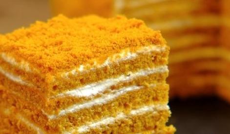 Домашний торт «Медовик»