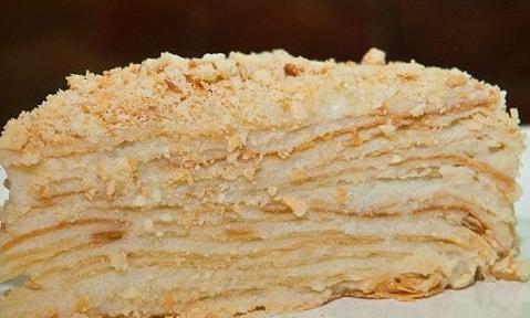 Домашний торт «Наполеон»